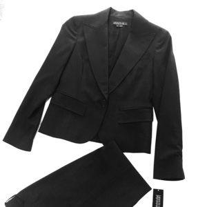 Grey Wool Pantsuit